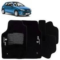 Jogo Tapete Peugeot 206 99 2000 2001 2002 2003 2004 Até 2010