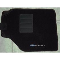 Jogo Tapete Carpete Resinado Ford Corcel Ii/2 Acabamento Top