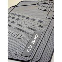 Tapete Em Borracha Pvc - Chevrolet S10 Cabine Simples 4x4
