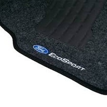 Tapete Carpete Ford Ecosport Todas Grafite Bordado Duplo