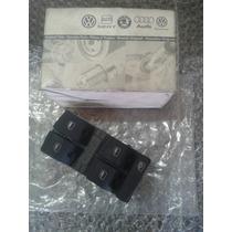 Conjunto Botão Interruptor Vidro Audi A6 Original Vw L.e.