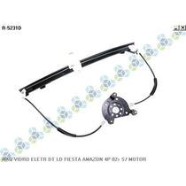 Maquina De Vidro Eletrica Dianteria Ld Le Fiesta Amazon 4 P