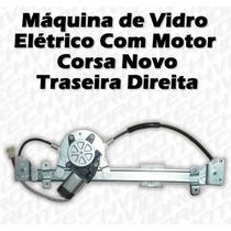 Máquina De Vidro Elétrico Com Motor Para Corsa Novo Tras Dir