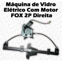 Máquina De Vidro Elétrico Com Motor Para Fox 2 Portas Dir