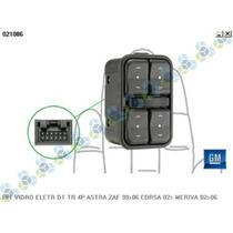 Interruptor Vidro Eletrico 4p Astra Zafira 99/06 Corsa 02/..