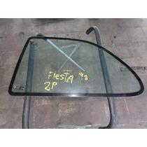 Vidro Traseiro Esquerdo Fiesta 98 2 Portas Original