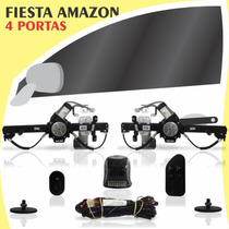 Kit Vidro Elétrico Dianteiro Fiesta Amazon 4 Portas