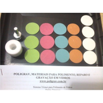 Kit Polimento Em Vidros E Parabrisas Lixas 3m Com 16 Lixas