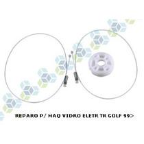 Kit Reparo Maquina Vidro Golf / Gol G2 Traseiro
