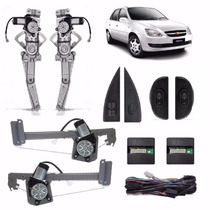 Kit Vidro Eletrico Corsa/wagon/classic 4p Compl.frete Gratis