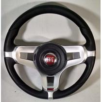 Volante Fiat Uno Tipo Fiorino Ano 95/96 Com Cubo Prata