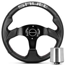Volante Shutt Sr 32 Black Esportivo F1000 94 Em Diante+ Cubo