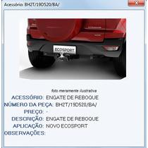 Engate Reboque Nova Ecosport 2013/..original Ford