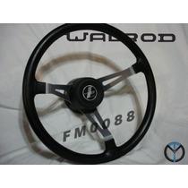 Volante De Direção Walrod Xk 38cm Novo Opala Chevette