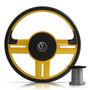 Volante Rallye Super Surf Amarelo Gol Parati Saveiro + Cubo