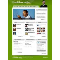 Site Php Para Politicos Script 100% Administravel Com Admin