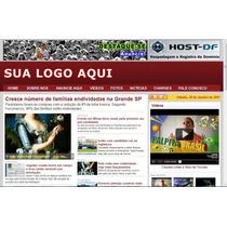 Portal De Noticias 2014 Vermelho Script Php (cod -11)