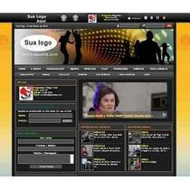 Script Site Web-radio Com Codigo-fonte E Manual D Instalação