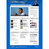Site Php Para Politicos 2014 Script 100% Administravel
