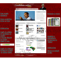 Site Php Politico Vereador Prefeito Candidato Deputado +novo