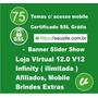 Loja Virtual 12.0 Mobile Afiliados Dominio Ilimitado 2016
