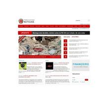 Script/site Php - Portal Para Notícias E Prefeituras
