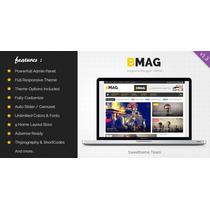 Blogger Template Responsive Magazine - Exclusividade