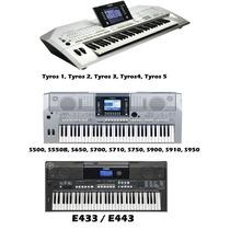 Novos Ritmos Para Teclados Yamaha - 2015 - (cod - 67)