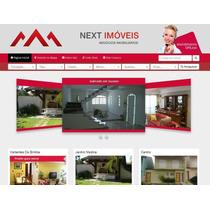 Lançamento Script Site Imobiliária V3 Responsivo Maps Chat