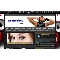 Super Script Php Radio Web Administrável Com Chat + Vinheta
