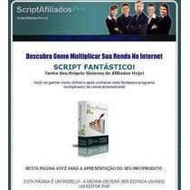 Script De Afiliados Pro 3.0 + Vídeo De Instalação
