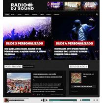 Script Php Web Radio Online - Sistema Pronto Completo