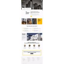 Portal Responsivo Para Construção Civil & Reformas Tema Wp