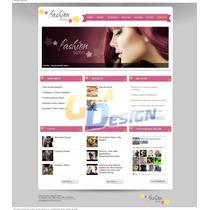 Site Salão De Beleza Cabeleireiro Script Php Hair Studio