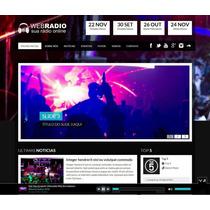 Script Php Web Radio Online - Templater Wp - Site De Cantor