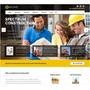 Site Para Construtoras E Empreiteiras - Vários Modelos