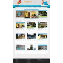 Script Site Imobiliaria Mapas+chat+responsivo+admin Facil