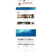 Script Php Site Para Igrejas E Ministérios Administrável