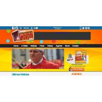 Webradio Site+streaming+hospedagem+autodj 10gb + 1000 Ouvint
