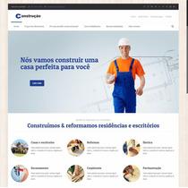 Site Profissional Para Construção Civil | Tema Wp