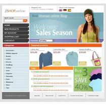 Loja Virtual Para Venda De Roupa E-commerce Script