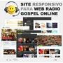 Tema Wp Para Sites De Radios Online Evangelica Ou Catolica