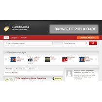 Script Em Php Classificados Online + Guia Comercial Mobile