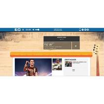 Webradio Site+streaming+hospedagem+autodj 8gb+400 Ouvintes