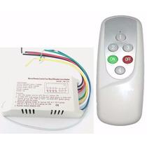 Controle Remoto Sem Fio Interruptor De Luz 110 V Casa