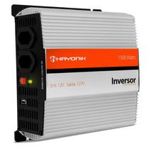 Inversor 1500w Transformador 12v P/ 110 127 Veicular Hayonik