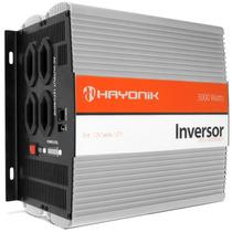 Inversor 3000w Transformador 12v P/ 110 127 Veicular Hayonik