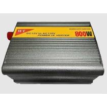 Inversor Transformador Conversor 800w Veicular 12v Para 110v