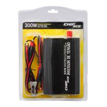 Inversor De Tensão Veicular Chip Sce - 300w - 24v Para 110v