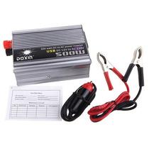 Inversor Transformador Conversor Carro 500w 12v - 220v